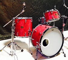 Gretsch red satin flame