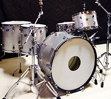 Ludwig 70's Silver Sparkle