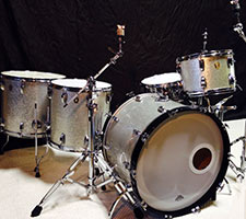 Ludwig 90's Silver Sparkle