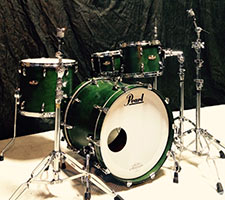 Pearl: Masters Custom Green Lacquer