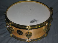 DW: Craviotto Natural w/ Gold Hardware 5 x 12