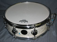 DW: Collector's Series White Marine Pearl 5 x 13