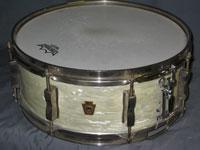 Ludwig: WFL White Marine Pearl 5 .5 x 14