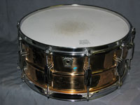 Ludwig: Engraved Bronze 6.5 x 14