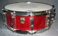 Ludwig: Red Sparkle 9 Ply 5.5 x 14