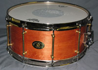 Drum Paradise: Lake Superior One Piece Maple w/ Brass Triple Flange Hoops 6.5 x 14