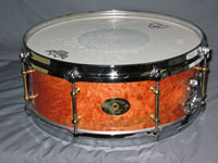 Drum Paradise: Lake Superior One Piece Maple w/ Die Cast Hoops 5 .5 x 14