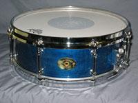 Drum Paradise: 10 Ply Maple/Abalone MegaFlake 5 x 14