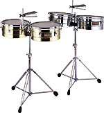 Brass Timbales